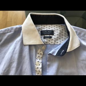 Zara Man slim fit Medium dress shirt